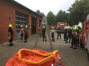 Feuerwehr Habighorst startet wieder mit Ausbildungsbetrieb